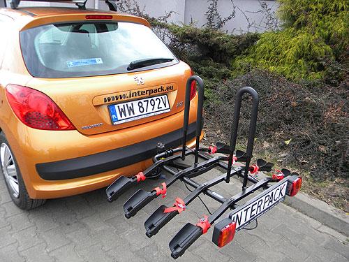 Krisko Lublin Eco Platforma 4 Bagażnik Na Hak Na 4 Rowery